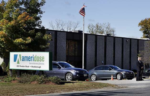 Ameridose LLC in Westborough, Mass., is linked to the firm suspected as a source of the tainted shots. Photo: Elise Amendola, Associated Press
