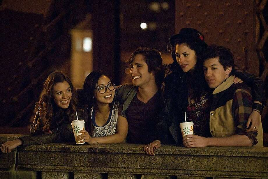"""Underemployed"" features Sarah Habel (left), Michelle Ang, Diego Boneta, Inbar Lavi and Jared Kusnitz. Photo: Matt Dinerstein, HBO"