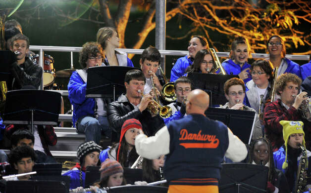 Scenes from the Staples at Danbury football game at Danbury High School on Friday, Oct. 12, 2012. Photo: Jason Rearick / The News-Times