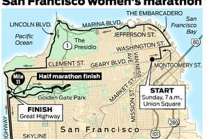 Marathon in San Francisco on Sunday - Photo