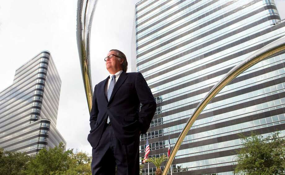John Breeding, president and CEO of the Uptown Houston District, says the area was almost all office and retail in 1986, but now, by value, is 34 percent office properties, 30 percent residential and 24 percent retail. Photo: Cody Duty / © 2012 Houston Chronicle