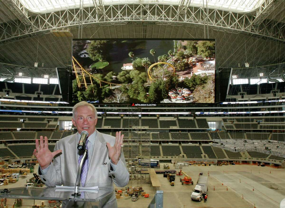 Love: He was the driving force behind the building of $1.2 billion Cowboys Stadium, a true football palace. Matt Slocum/Associated Press
