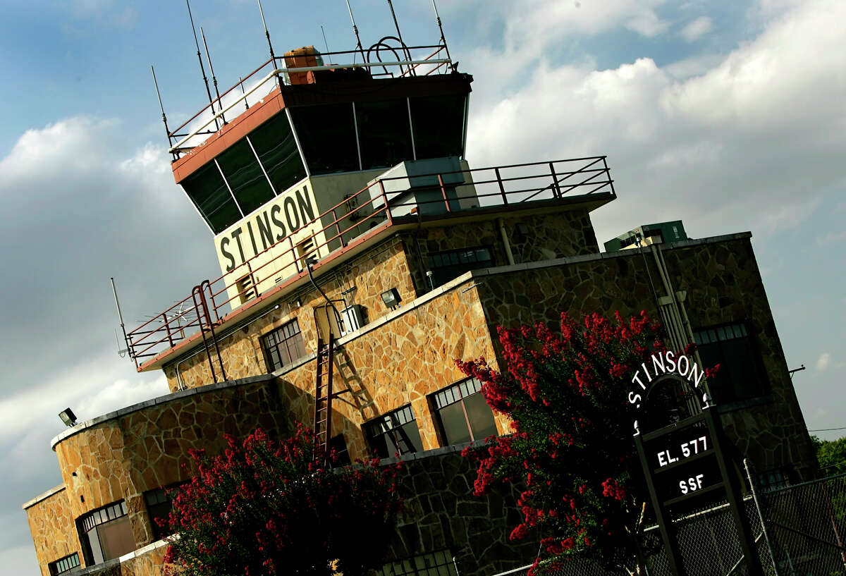 The Stinson Municipal Airport control tower and terminal building is seen June 20, 2006.