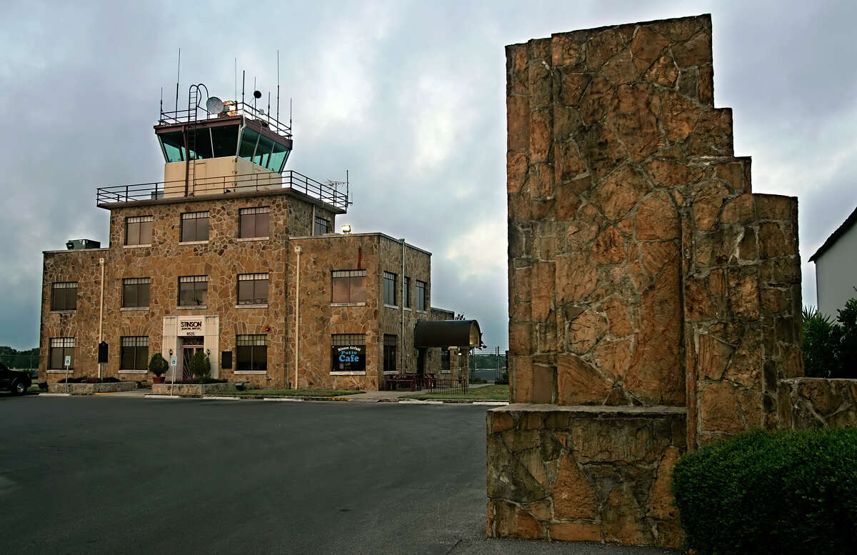 The Stinson Municipal Airport control tower and terminal building is seen June 22, 2006.