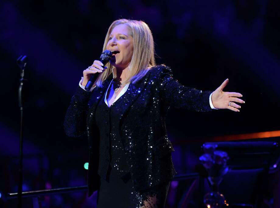 Singer Barbra Streisand kicks off her concerts at the Barclays Center in the Brooklyn borough of New York, on Thursday Oct. 11, 2012  (Photo by Evan Agostini/Invision/AP) Photo: Evan Agostini