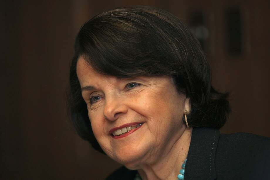 Sen. Dianne Feinstein says environmentalists have been no help in adjusting the water policy. Photo: Liz Hafalia, The Chronicle