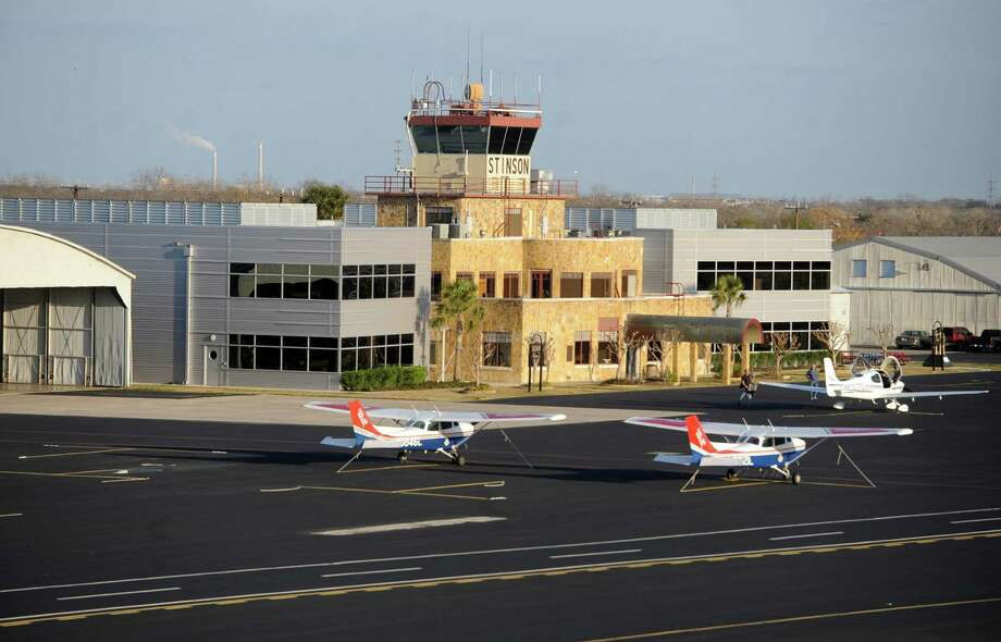 Stinson Municipal Airfield is the designated general reliever airport for San Antonio International Airport. Photo: Billy Calzada, San Antonio Express-News / gcalzada@express-news.net