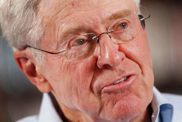 6. Charles KochNet worth: $34 billionWhy he's so rich: He's a mega-investor. Photo: BO RADER / Wichita Eagle