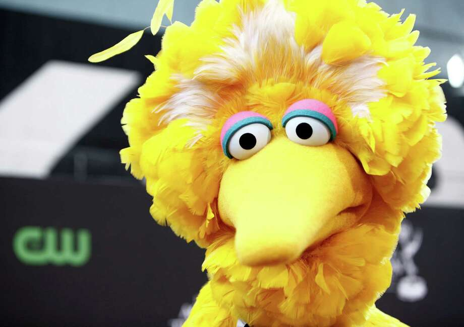 FILE - In this Aug. 30, 2009 file photo, Big Bird arrives for the Daytime Emmy Awards in Los Angeles. Kermit Love, who constructed the Sesame Street character, was a student at New York?Çis Pratt Institute. The renowned college of art, design and architecture is marking its 125th birthday by putting 125 iconic designs, including this one, on public view from Nov. 30-Jan. 19. (AP Photo/Matt Sayles, File) Photo: Matt Sayles / AP