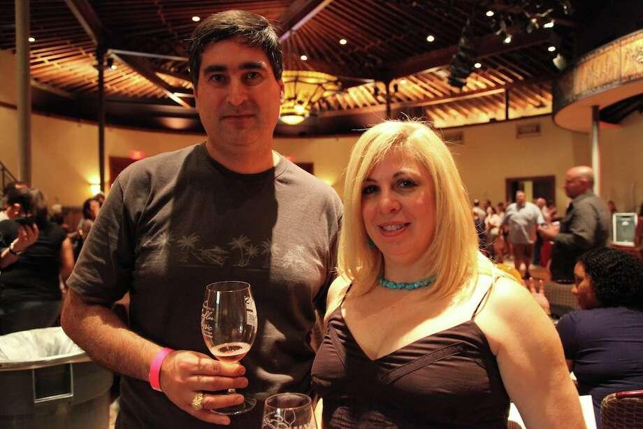 The Pearl Cellar wine tasting, held Saturday, Oct. 13. Photo: Xelina Flores-Chasnoff/Special To MySA.com / SA Photo: Express-News
