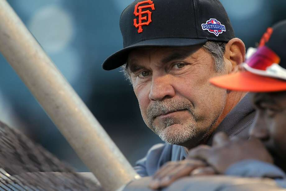 The Giants' Bruce Bochy is in his 18th season as a major-league manager after spending nine seasons as a backup catcher. Photo: Carlos Avila Gonzalez, The Chronicle