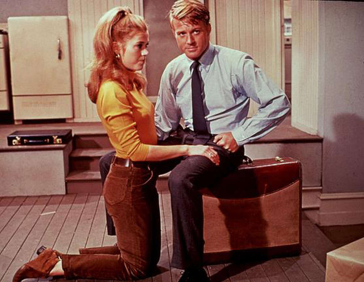 """Broadway He had a few small parts on Broadway but landed big in """"Barefoot in the Park"""" in 1963 with Elizabeth Ashley. Seen here is a shot from the 1967 film version with Jane Fonda."""