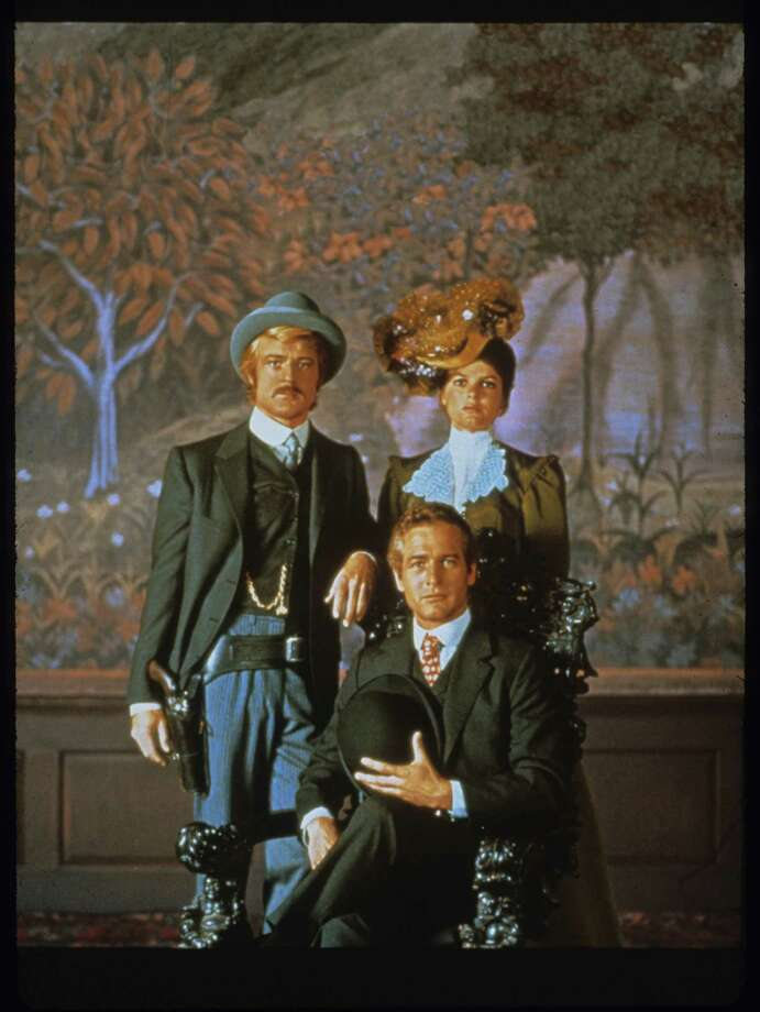 Butch Cassidy and the Sundance Kid poster -- Robert Redford, Katherine Ross, Paul Newman. / handout slide