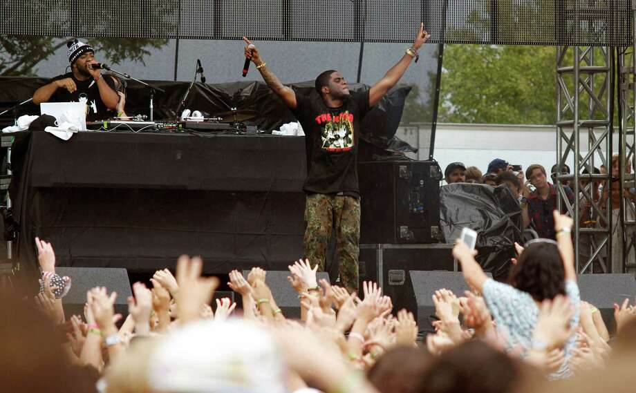 Big K.R.I.T performs at the Austin City Limits Music Festival, Saturday, Oct. 13, 2012, in Austin, Texas.(Photo by Jack Plunkett/Invision/AP) Photo: Jack Plunkett, Associated Press / Invision