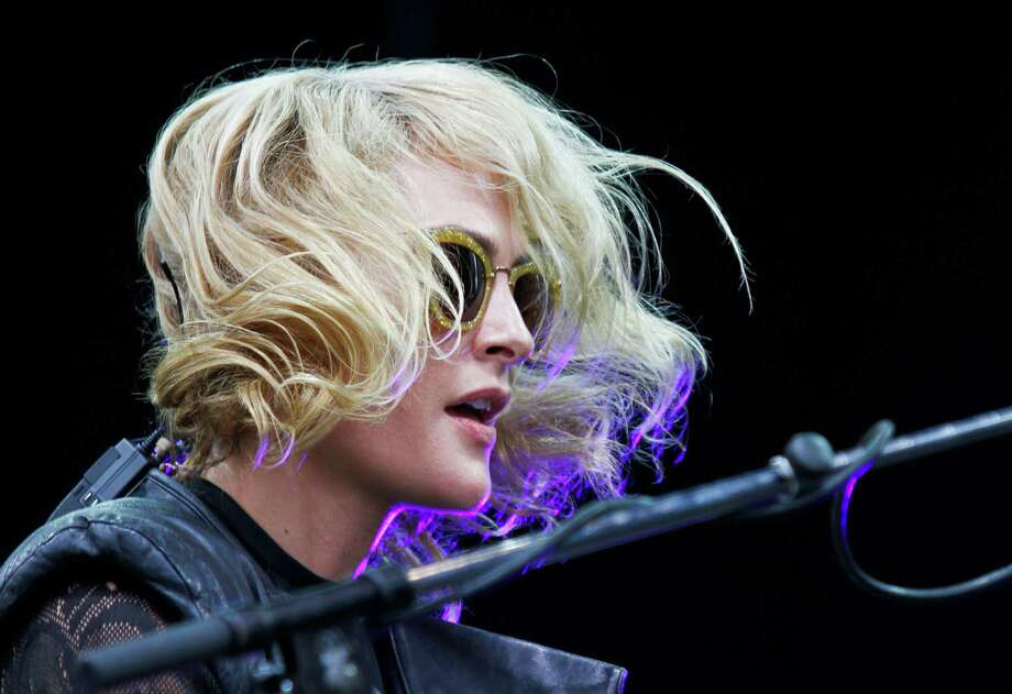 Emily Haines and Metric perform at the Austin City Limits Music Festival, Saturday, Oct. 13, 2012, in Austin, Texas.(Photo by Jack Plunkett/Invision/AP) Photo: Jack Plunkett, Associated Press / Invision