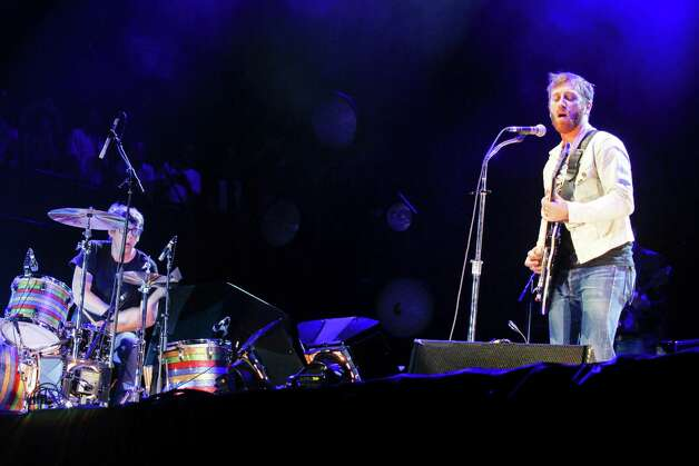 The Black Keys perform at Austin City Limits Music Festival, Friday, Oct. 12, 2012, in Austin, Texas.(Photo by Jack Plunkett/Invision/AP) Photo: Jack Plunkett, Associated Press / Invision