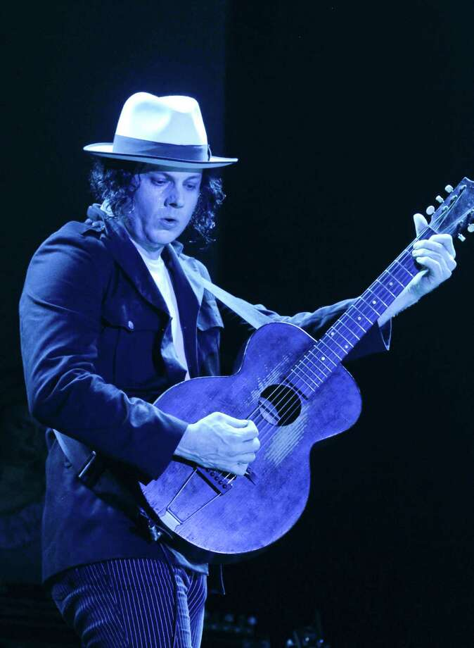 Jack White performs at the Austin City Limits Music Festival, Saturday, Oct. 13, 2012, in Austin, Texas.(Photo by Jack Plunkett/Invision/AP) Photo: Jack Plunkett, Associated Press / Invision