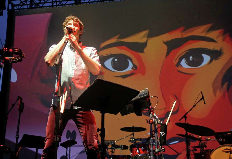 Gotye performs at the Austin City Limits Music Festival, Saturday, Oct. 13, 2012, in Austin, Texas.(Photo by Jack Plunkett/Invision/AP) Photo: Jack Plunkett, Associated Press / Invision