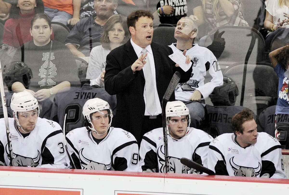 The Rampage had a 29-38-2-7 record in 2012-13 in Chuck Weber's second and final season as head coach. Darren Abate / pressphotointl.com