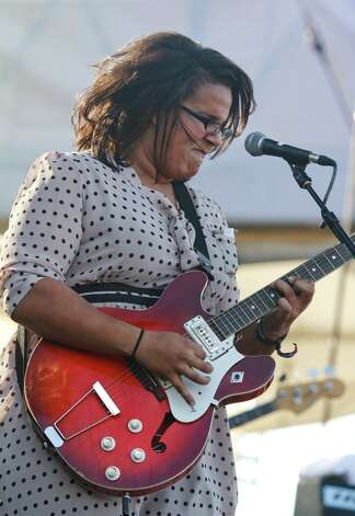 The Alambama Shakes perform at Austin City Limits Music Festival, Friday, Oct. 12, 2012, in Austin, Texas.(Photo by Jack Plunkett/Invision/AP) Photo: Jack Plunkett, Associated Press / Invision
