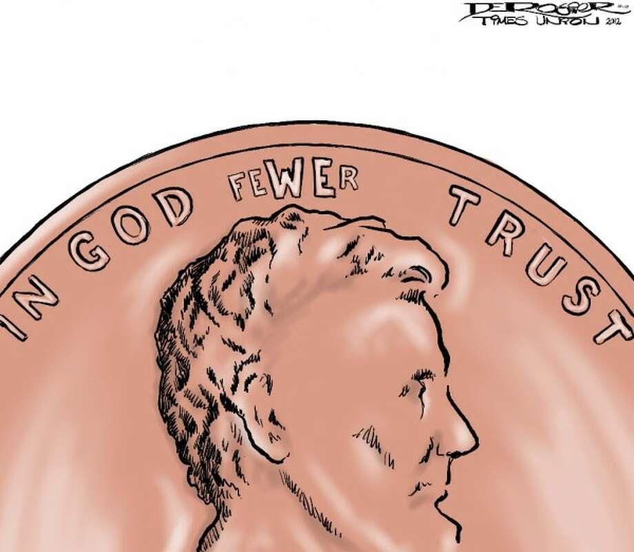 Fewer (John de Rosier / Albany Times Union)