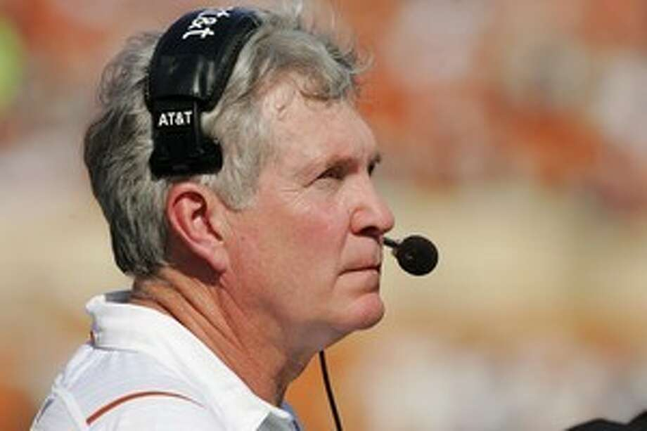 Texas coach Mack Brown said he wished he didn't have to spend so much time on the Longhorn Network. Photo: Brian Bahr, Getty Images / 2009 Getty Images