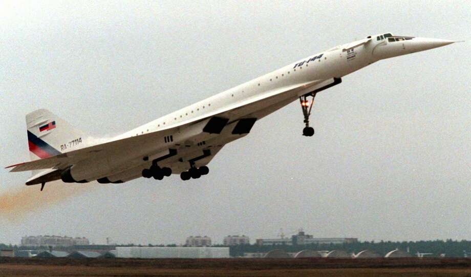 The Russians beat the world to supersonic commercial flights in 1975, but the TU-144 was notoriously unreliable. Photo: SERGEI KARPUKHIN, ASSOCIATED PRESS / AP1996