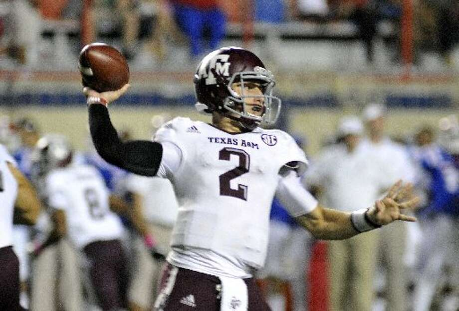 "1. Texas A&M (5-1, next week vs. LSU) —  ""Johnny Football"" put on a show for those who were willing to stay up late to watch his big effort against Louisiana Tech. But next week against LSU will be a humongous step up in class for him and the Aggies. Kita K Wright/Associated Press"
