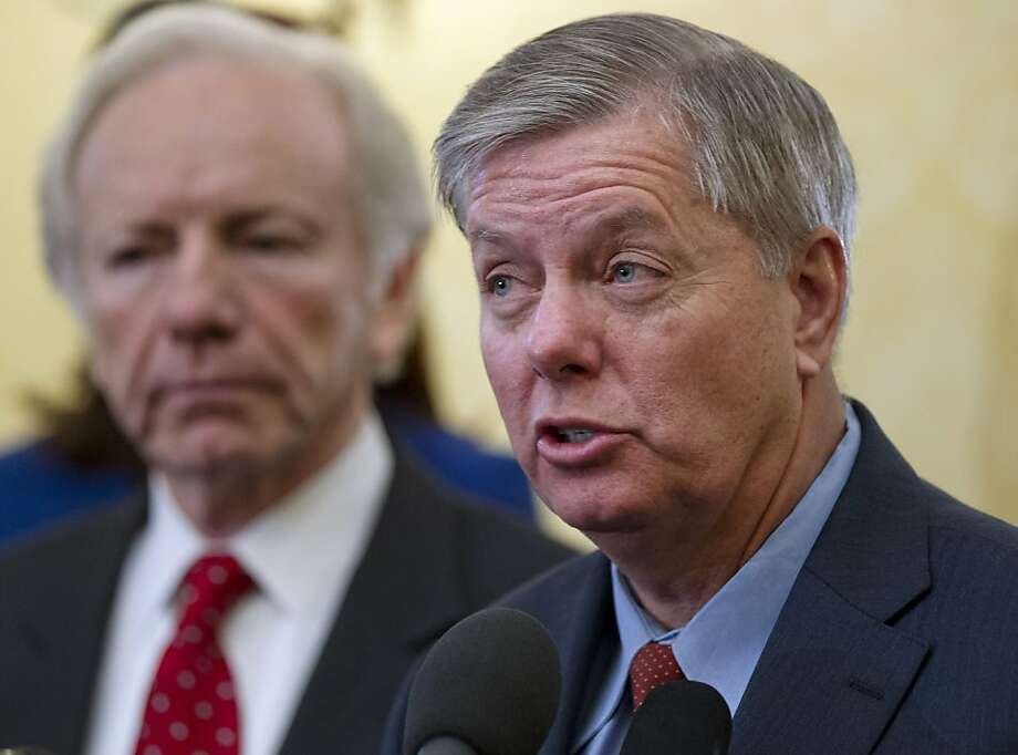 "Sen. Lindsey Graham, R-S.C., discussed the consulate raid on CBS' ""Face the Nation."" Photo: J. Scott Applewhite, Associated Press"