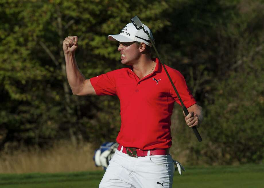Jonas Blixt nailed down his first PGA victory in only his 19th start on the tour. Photo: Robert Laberge / 2012 Getty Images