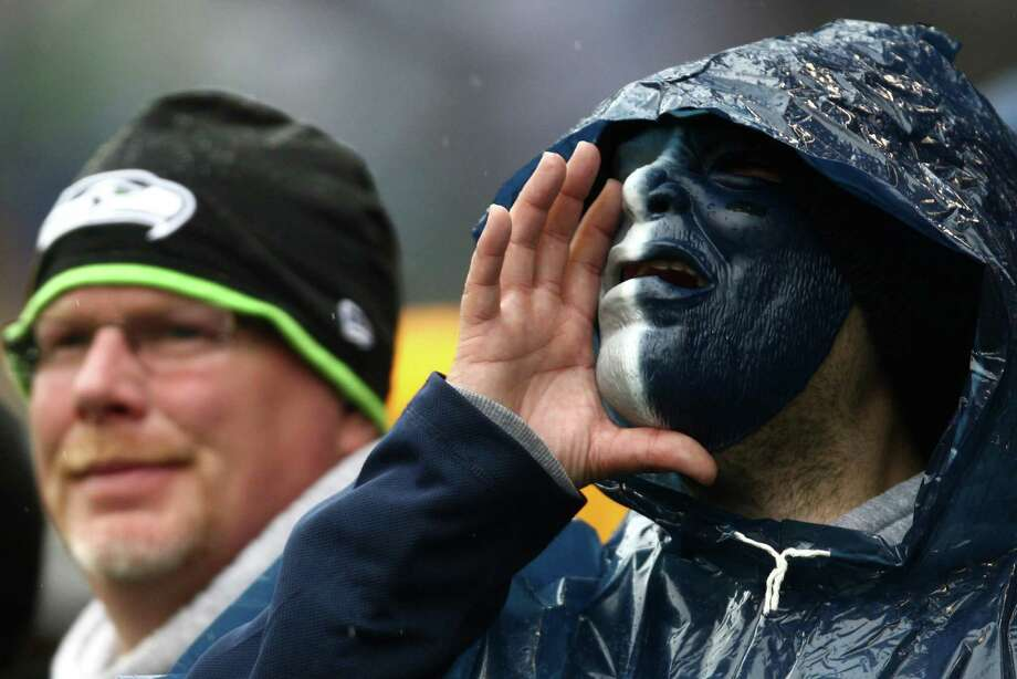 Seattle Seahawks fans make noise during a New England Patriots possession on Sunday, October 14, 2012 at CenturyLink Field in Seattle. The Hawks beat the Patriots 24 to 23. Photo: JOSHUA TRUJILLO / SEATTLEPI.COM
