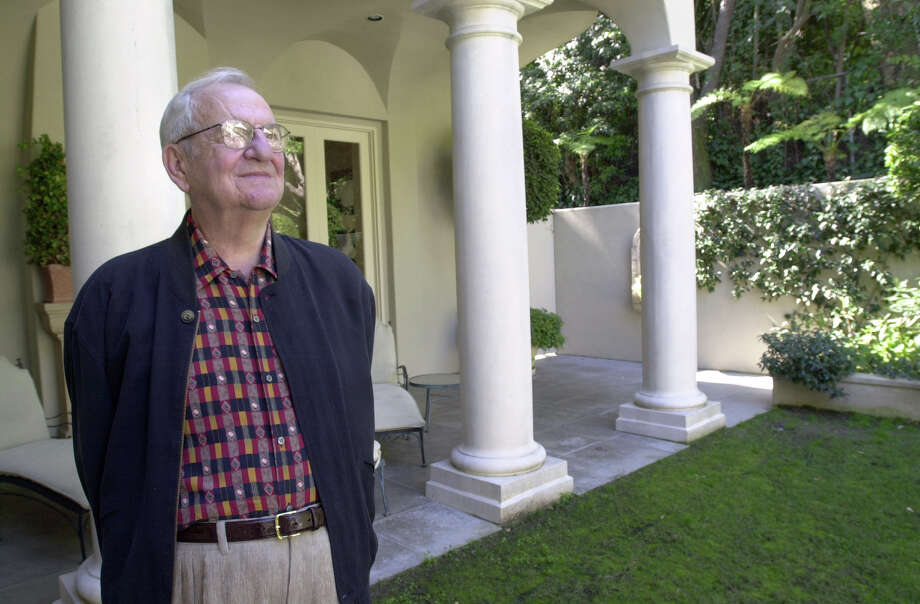 FILE-- Former Chrysler Corp. chairman Lee Iacocca is shown Feb. 26, 2002, at his home in Bel Air, Calif. Photo: CHARLES V. TINES / THE DETROIT NEWS
