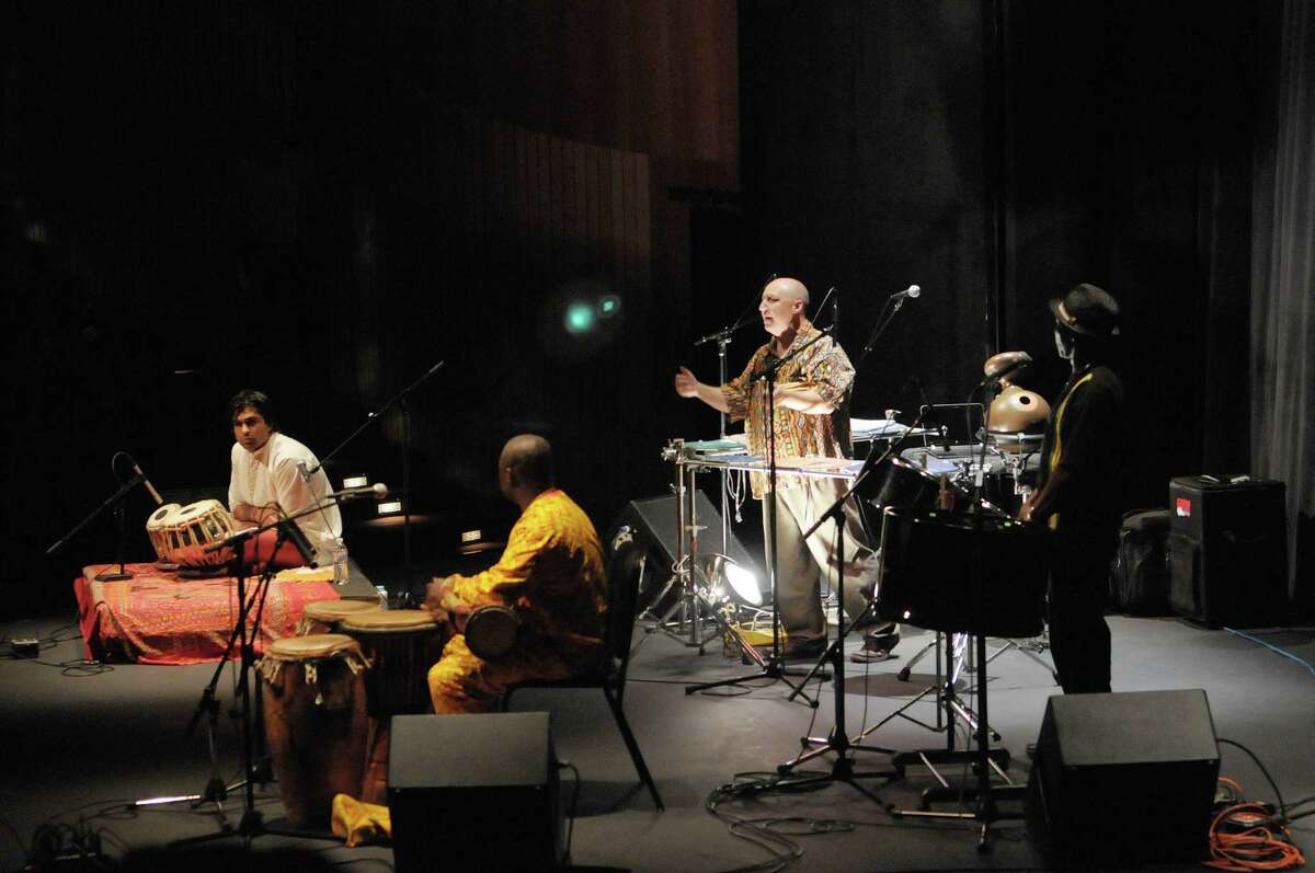 Musicians, from left, Devesh Chandra, Zorkie Nelson, Brian Melick and Aston