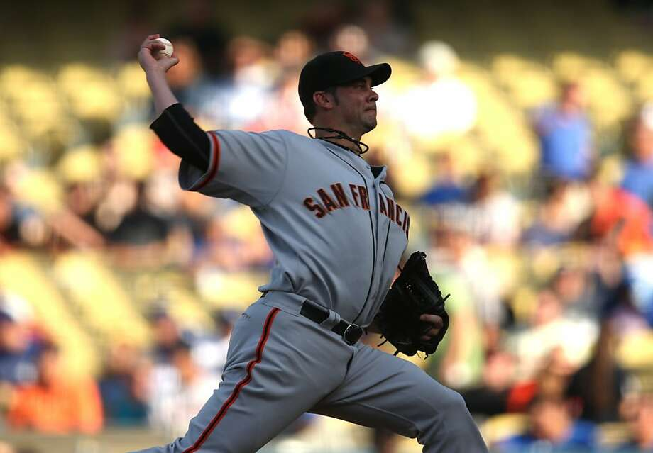 Ryan Vogelsong expects to be calm on the mound Monday as he tries to help the Giants even the series. Photo: Stephen Dunn, Getty Images