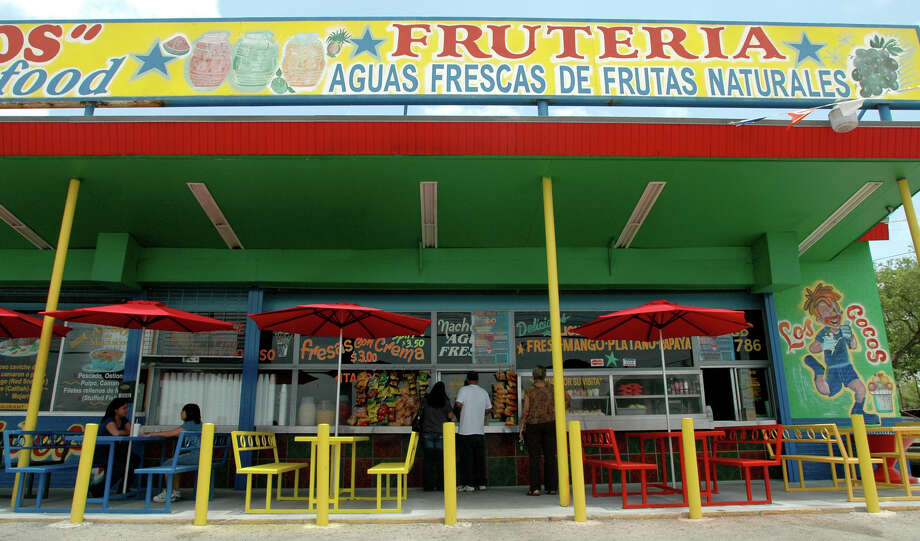 Los Cocos Frutería and Taquería, 1502 Bandera Road, 210-431-7786, serves breakfast all day. It serves authentic Mexican breakfast plates and tacos. Photo: BETH SPAIN, SPECIAL TO THE EXPRESS-NEWS / bethspain@gmail.com