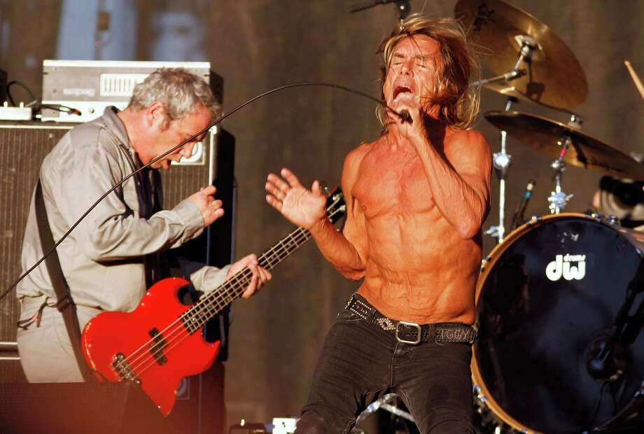 Iggy & The Stooges perform at the Austin City Limits Music Festival, Sunday, Oct. 14, 2012, in Austin, Texas. (Photo by Jack Plunkett/Invision/AP) Photo: Jack Plunkett, Associated Press / Invision