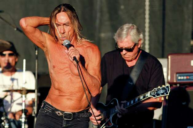 Iggy & The Stooges perform at the Austin City Limits Music Festival, Sunday, Oct. 14, 2012, in Austin, Texas.(Photo by Jack Plunkett/Invision/AP) Photo: Jack Plunkett, Associated Press / Invision