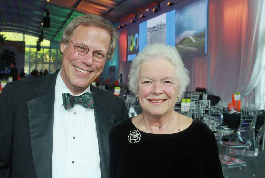 Honoree Stephen Klineberg and Peggy Klineberg Photo: Gary Fountain / Copyright 2012 Gary Fountain.