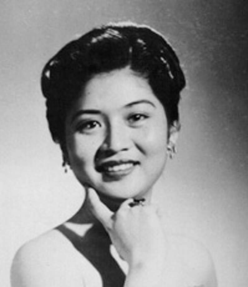 A studio portrait of Imelda Marcos, circa 1954, as seen in Ramona S. Diaz's film IMELDA. Photo credit: CineDiaz, Inc./Unico Entertainment