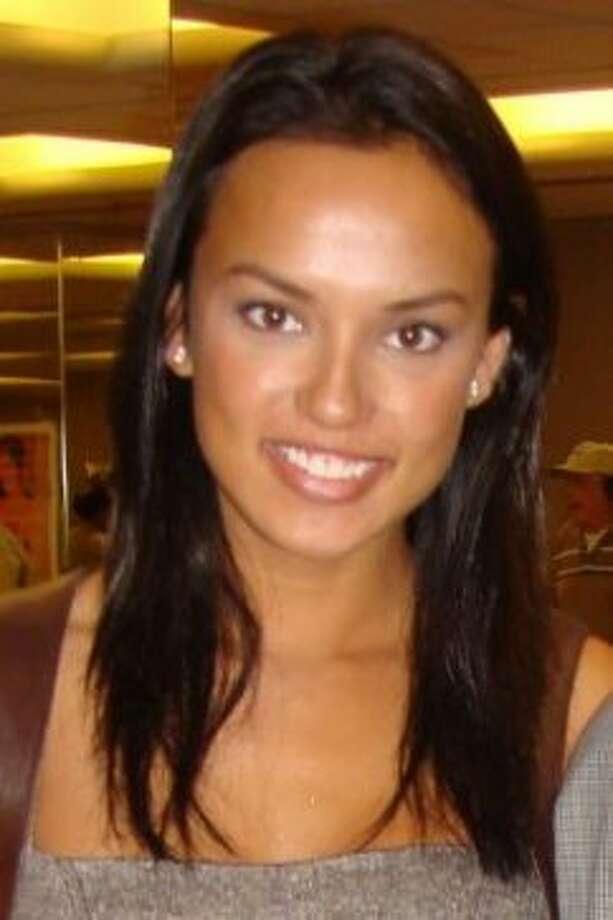 Philippine-born model Racquel Gibson