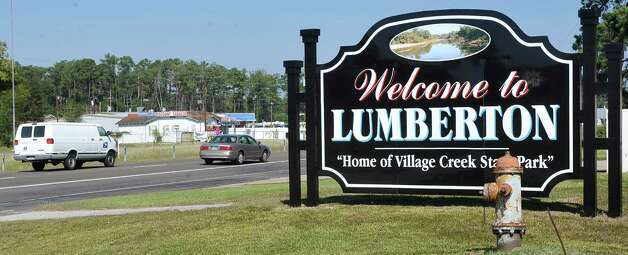 Cars can be seen entering the city limits of Lumberton Thursday October 11, 2012 on highway 96. Lumberton is growing, with a new emergency facility, new subdivisions, new businesses, new utility district buildings,    Dave Ryan/The Enterprise Photo: Dave Ryan