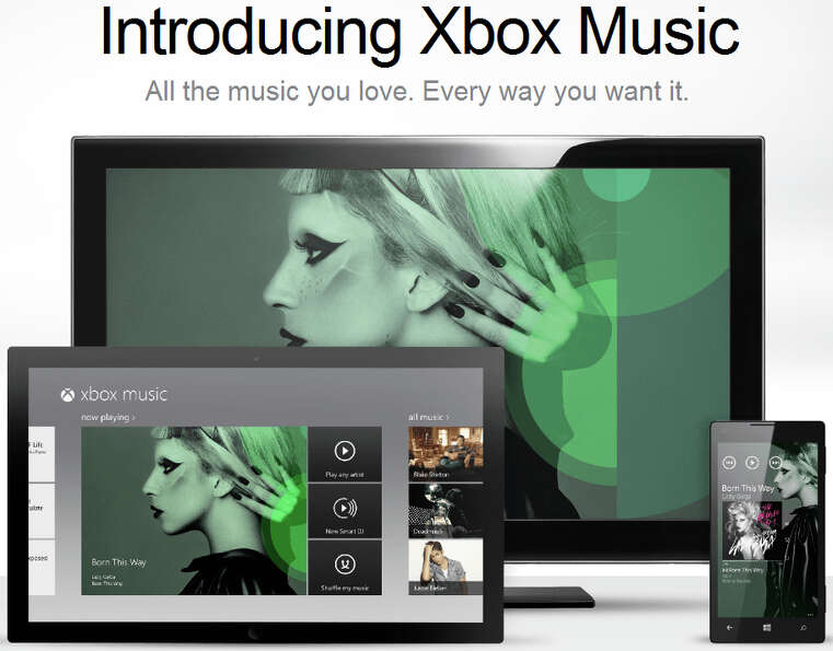 Microsoft on Monday announced Xbox Musi