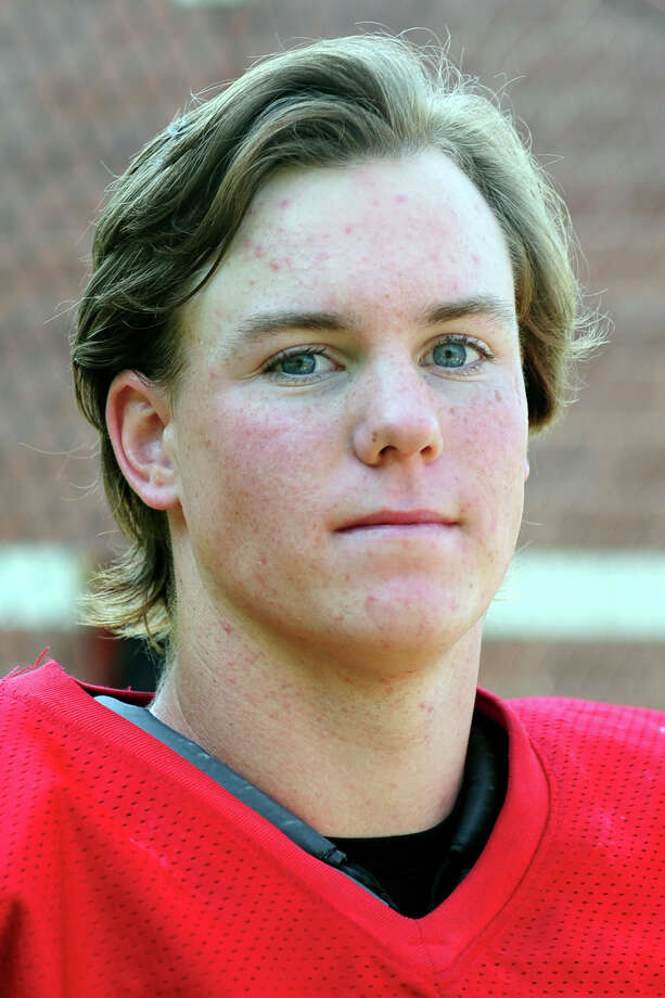 Fairfield Prep quarterback Strecker Backe is this week's Fairfield Citizen Male Athlete of the Week for the Week Oct. 8-13. Photo: Autumn Driscoll / Connecticut Post
