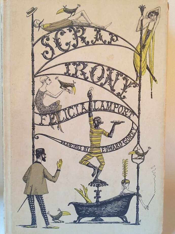 Scrap Irony, by Felicia Lamport and illustrated by Edward Gorey Photo: Adam Mansbach