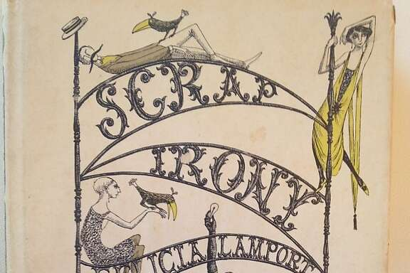 Scrap Irony, by Felicia Lamport and illustrated by Edward Gorey