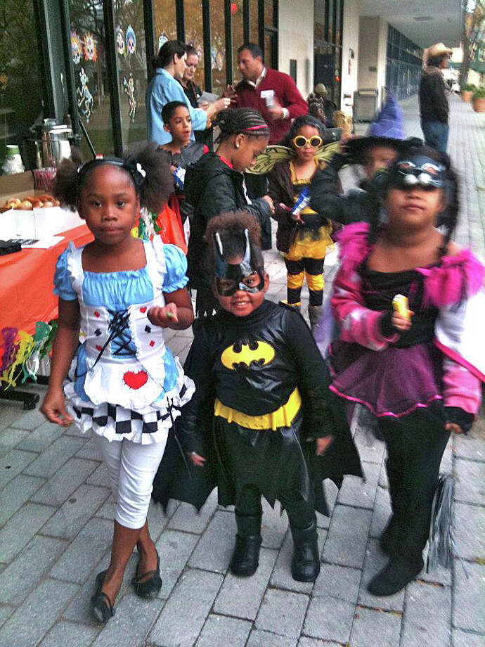 Kids enjoy the festivities at last year's Day of the Dead Halloween celebration. Photo: Contributed Photo