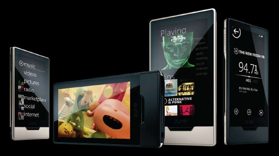 Microsoft released the Zune HD on Sept. 15, 2009. It featured high-definition video output, able to connect via HDMI cable to any HDTV, HD Radio, movie downloads, free games and apps, and a touch-screen optimized version of Internet Explorer. Photo: Microsoft