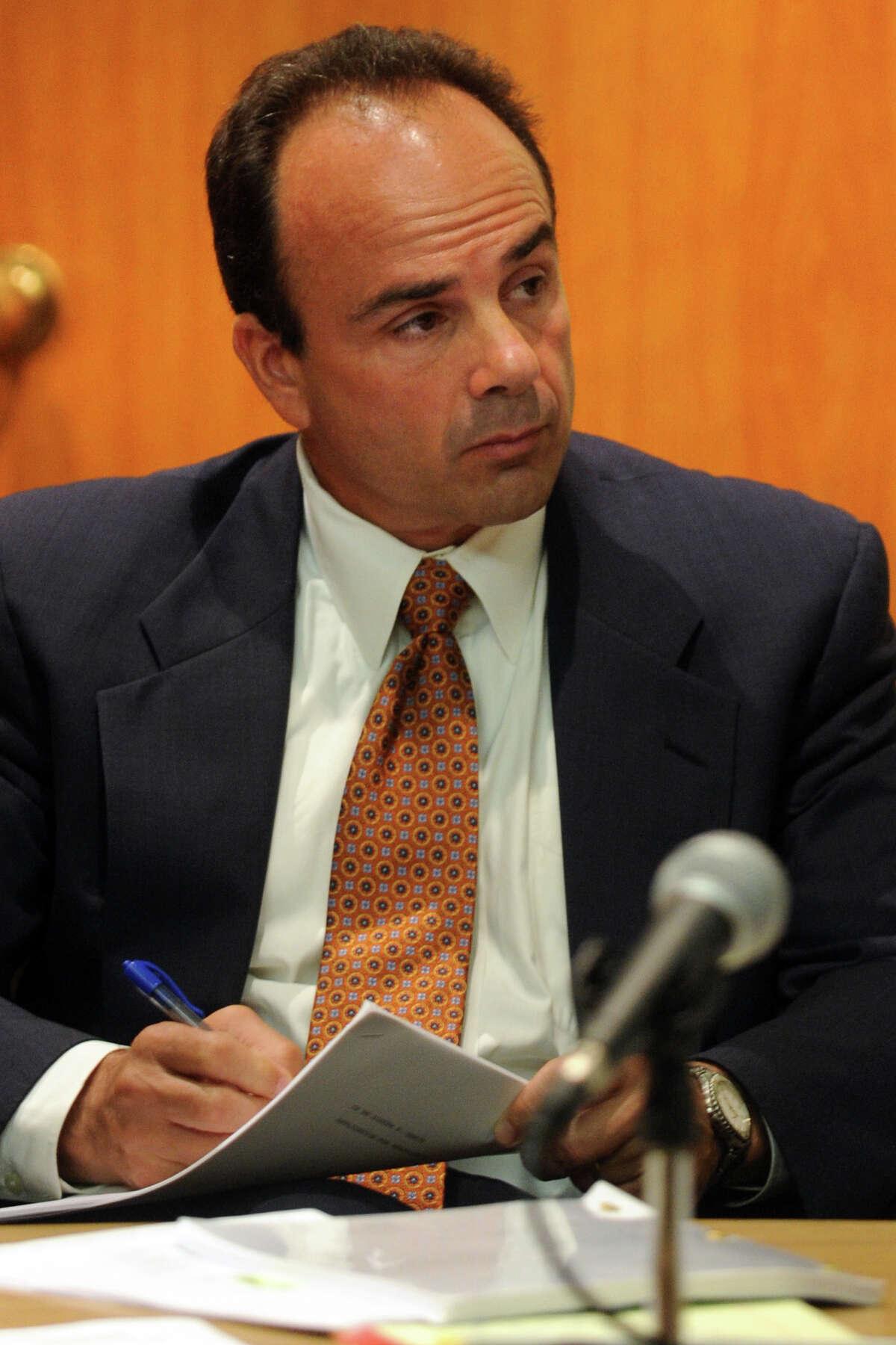 Former Bridgeport Mayor Joseph Ganim in Superior Court, in Bridgeport, Conn. Sept. 11th, 2012.