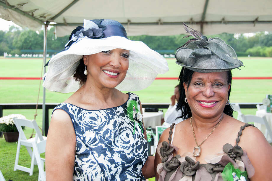 Angela Joubert, president of the Texas Spring Cypress chapter of the Links, left, and gala chair Josie Daniels Photo: Grady Carter