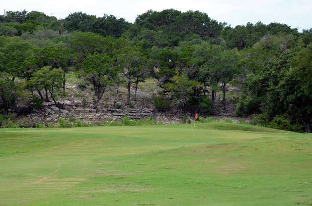 The No. 7 green at Canyon Lake Golf Club.